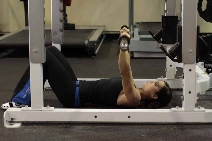 Floor press exercise guide and video for Floor exercises