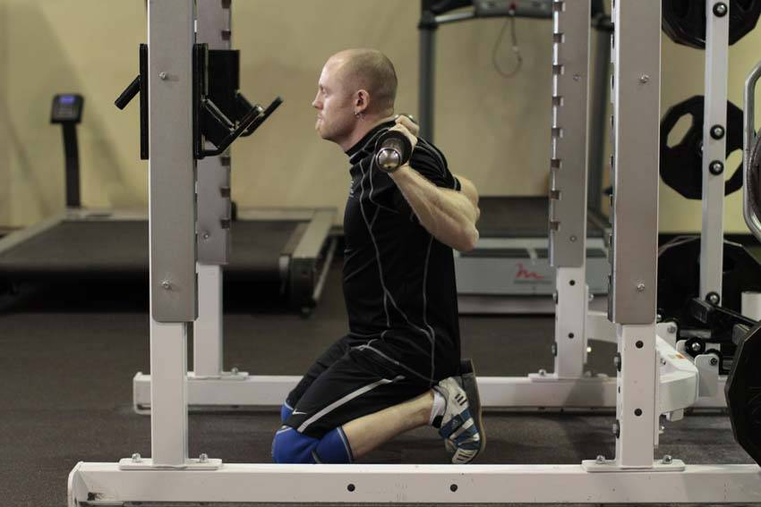 Kneeling Squat Exercise Guide And Video