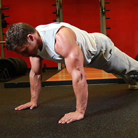 Military-style push-up