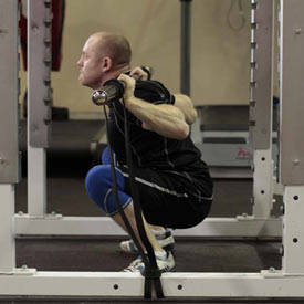 Squat with Bands image