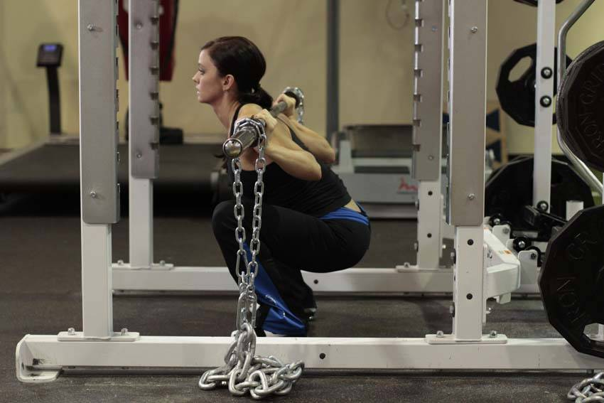 Squat With Chains Exercise Guide And Video