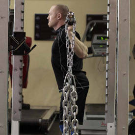 Squat with Chains image