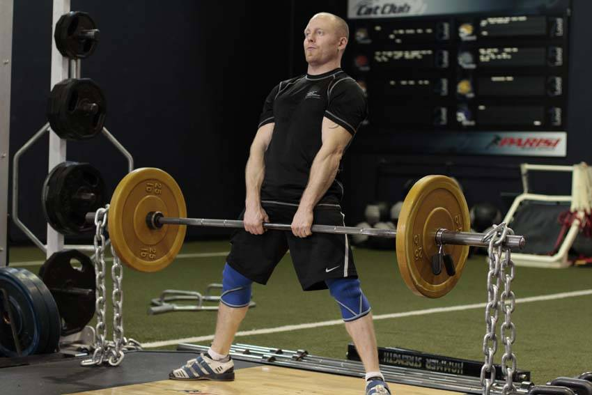 Sumo Deadlift with Chains image