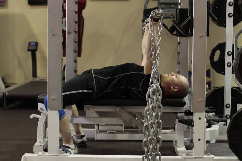 Bench Press with Chains image