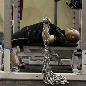 Bench Press with Chains