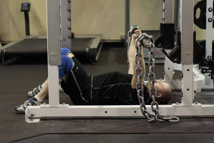 Floor Press with Chains image