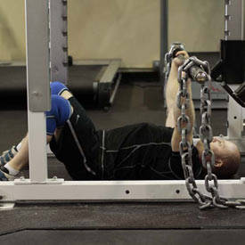 Floor Press with Chains