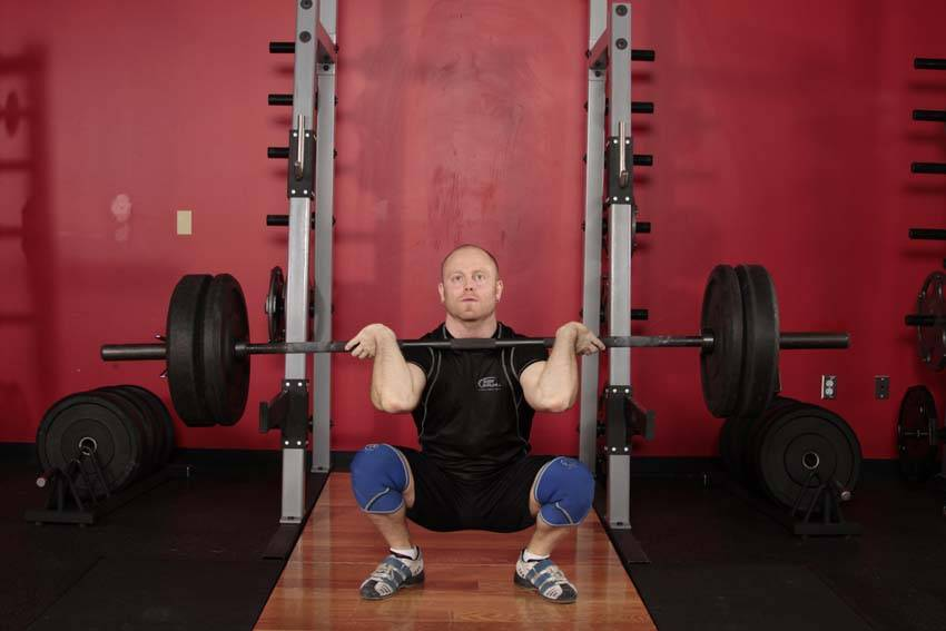 Click to enlarge  Front Squat  Front Squats