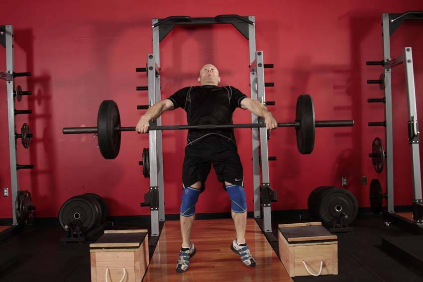 Power Snatch from Blocks image