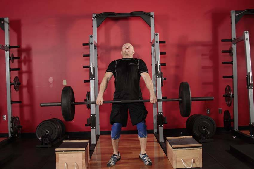 Power Clean from Blocks image