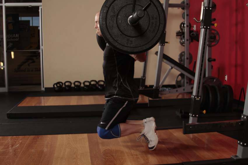Kneeling Jump Squat Exercise Guide And Video