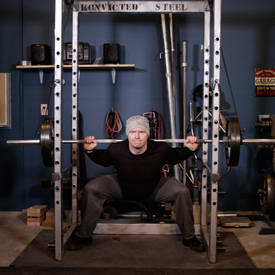 Reverse Band Power Squat image