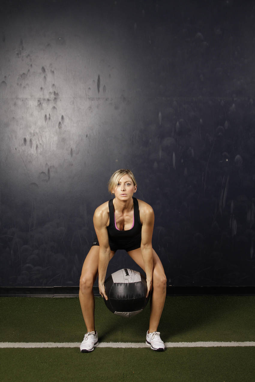 medicine ball throw The seated medicine ball throw test is used to test a clients upper limb power this page shows you how to conduct the test.