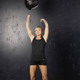 Overhead Medicine Ball Throws