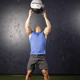 Backward Medicine Ball Throw