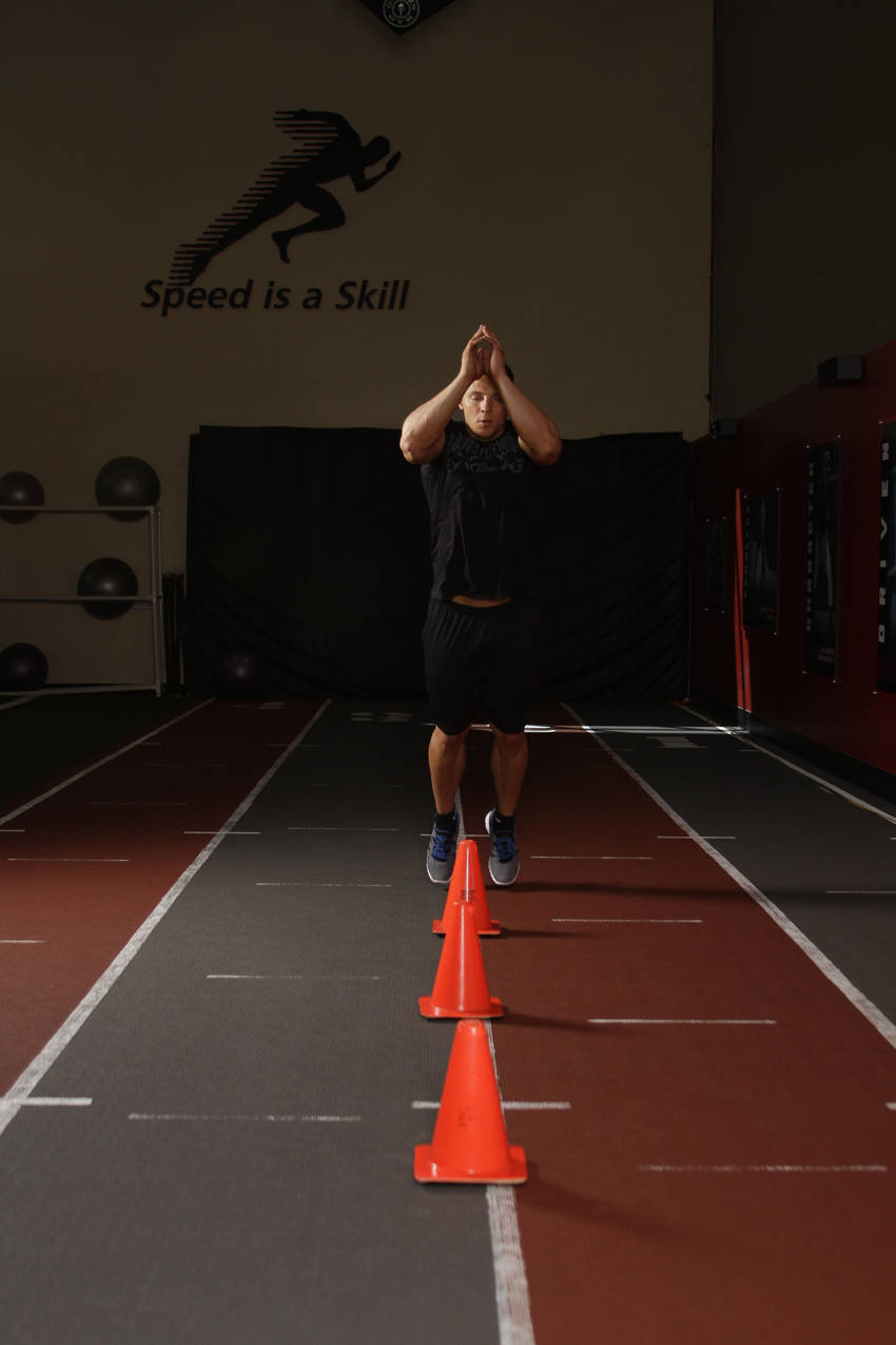 Front Cone Hops (or hurdle hops) image