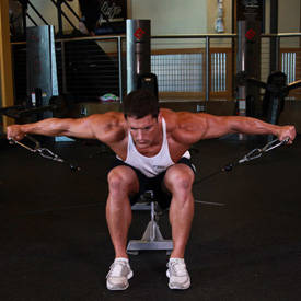 Cable Seated Lateral Raise