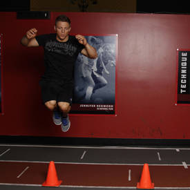 Lateral hop