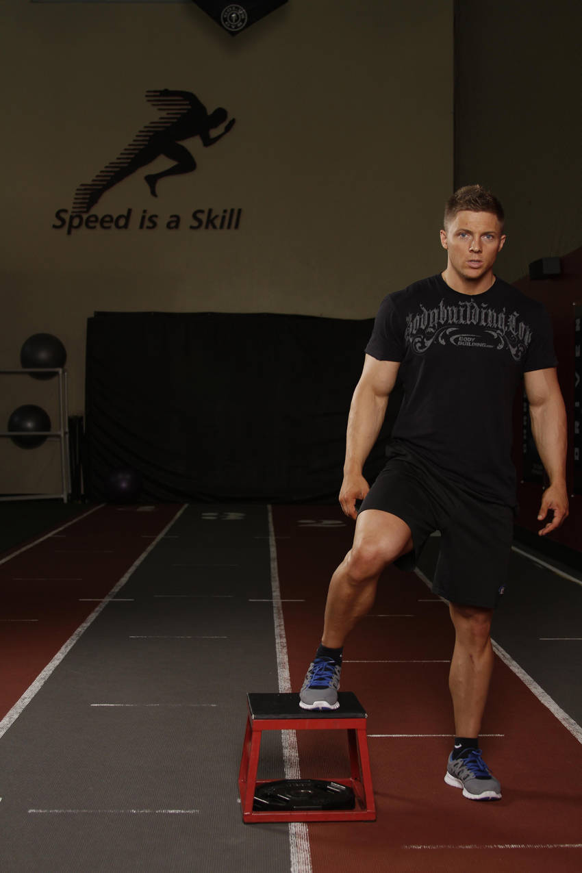Side To Side Box Shuffle Exercise Guide And Video