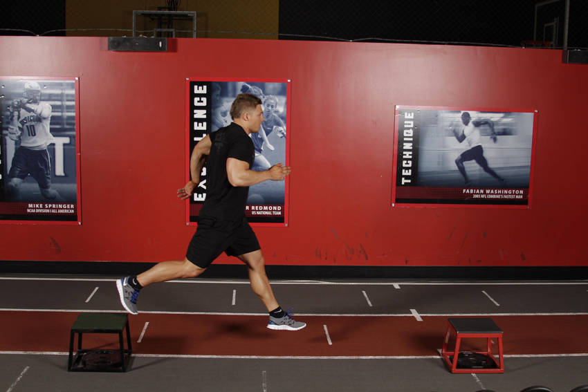 Single-Leg Stride Jump image
