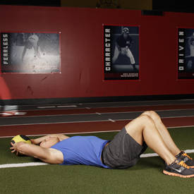 Supine Two-Arm Overhead Throw