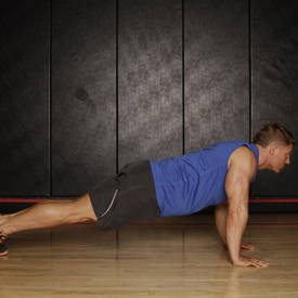 Push Up to Side Plank