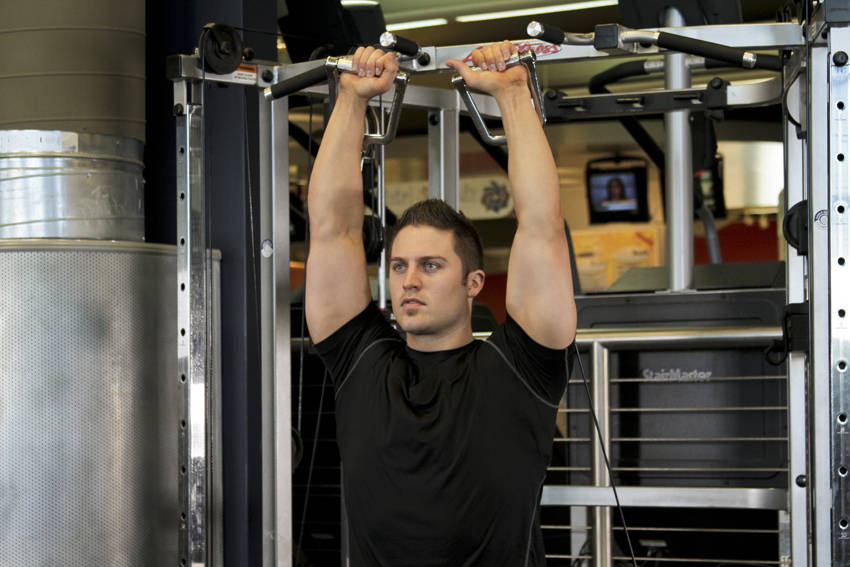 Cable Shoulder Press Exercise Guide And Video