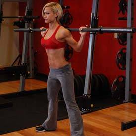 Stiff Leg Barbell Good Morning