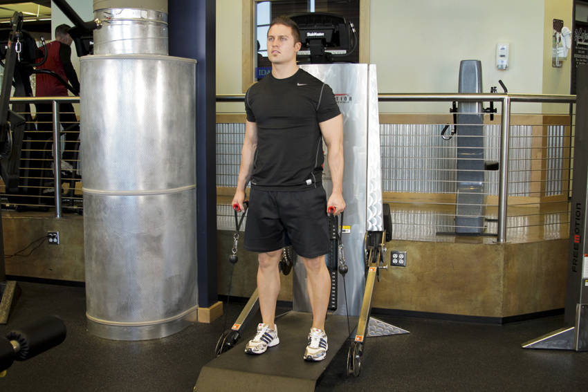 Cable Deadlifts image