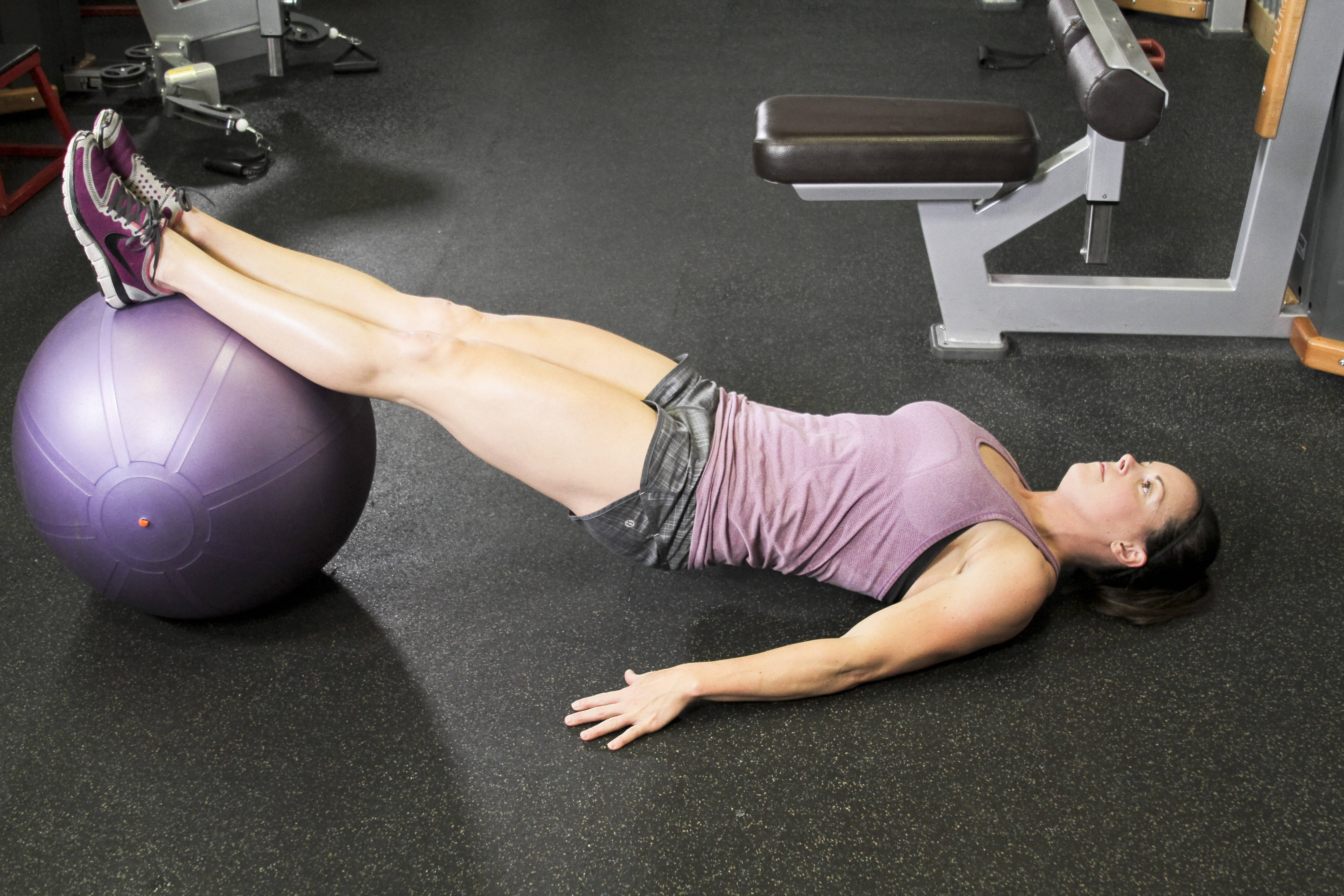 Ball Leg Curl Exercises