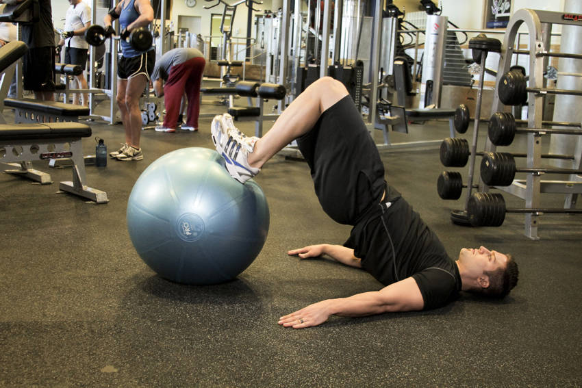 Ball Leg Curl Exercise Guide and Video