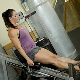 Machine calf press
