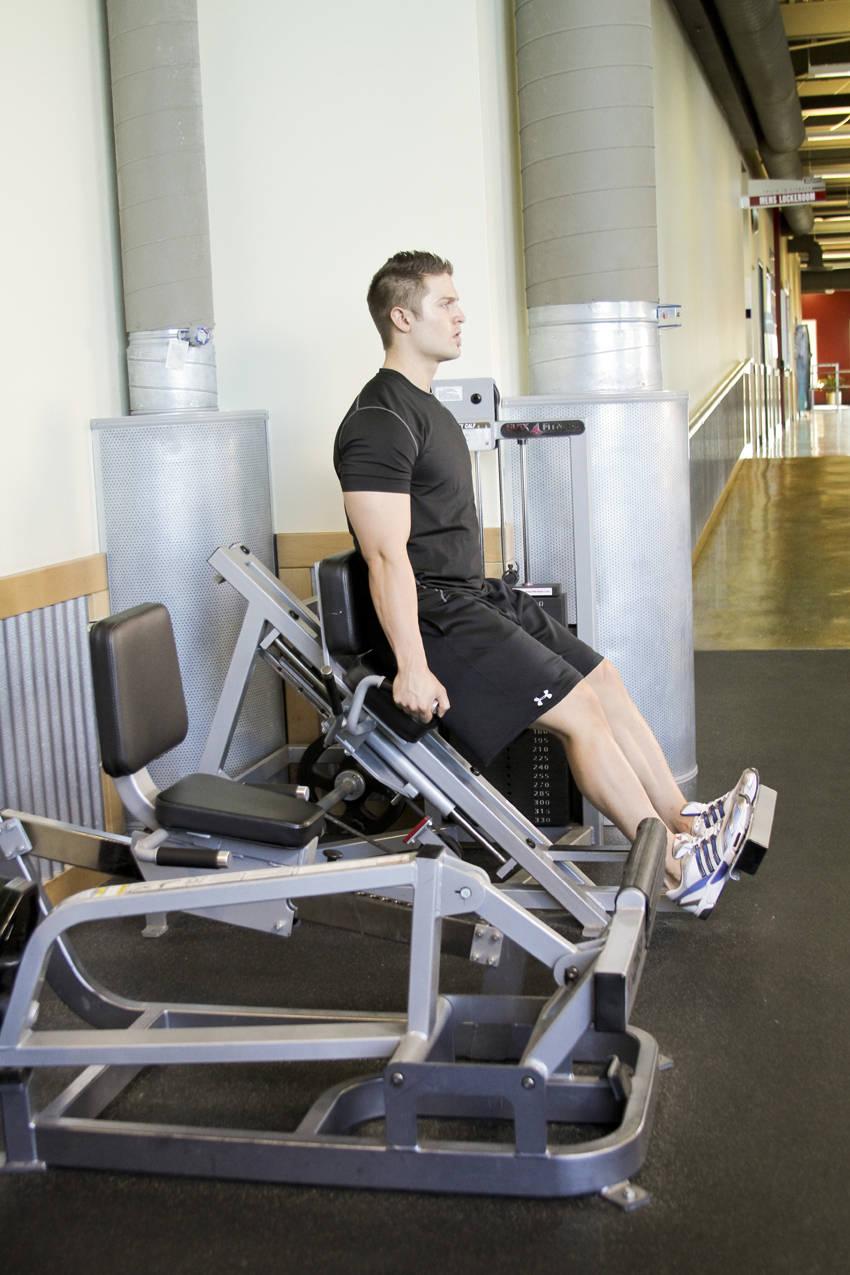 calf machine exercises