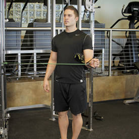 External Rotation with Band image