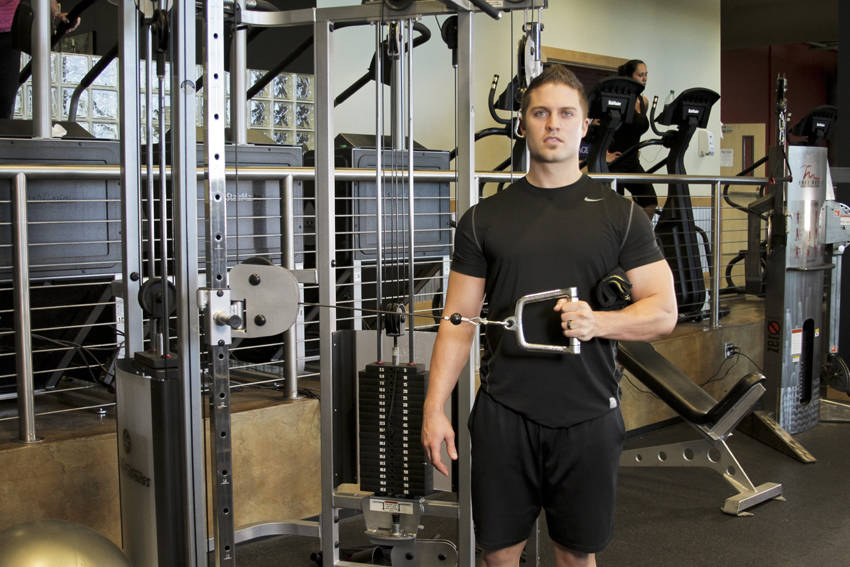 External Rotation with Cable image