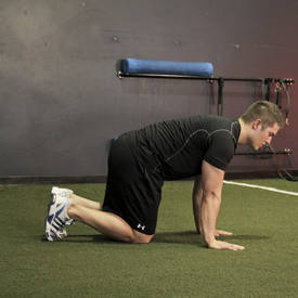Single-arm hip circle
