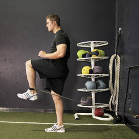 Hip Flexion with Band image