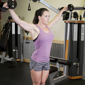 Alternating Deltoid Raise