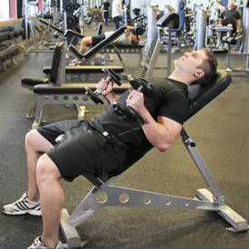 Incline Hammer Curls