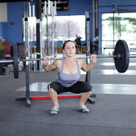 Weighted Jump Squat