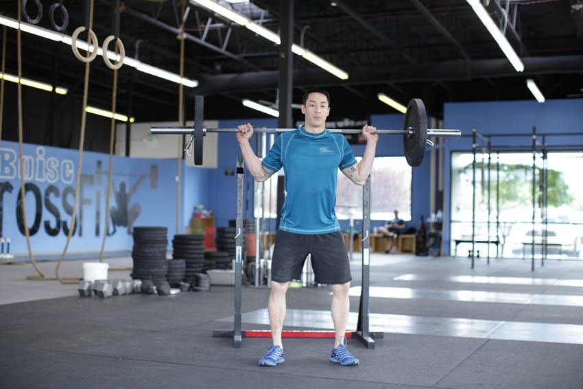 Weighted Jump Squat  image