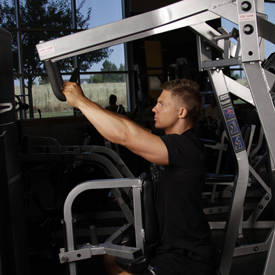 Hammer-strength row