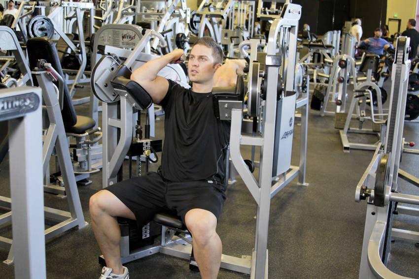 biceps workout machine