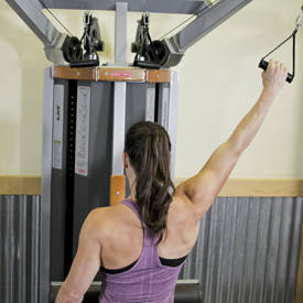One Arm Lat Pulldown