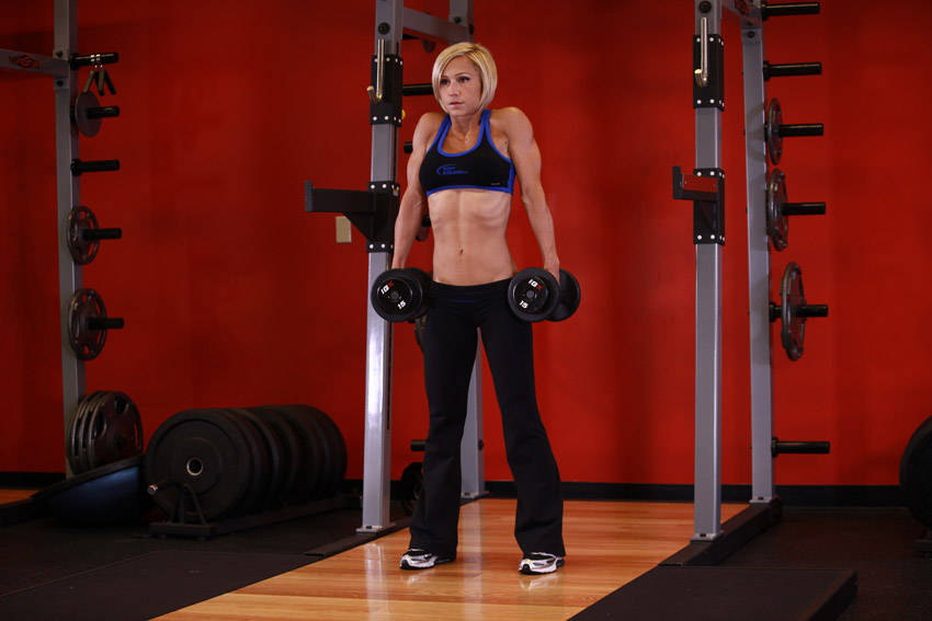 Dumbbell Shrug Exercise Guide and Video