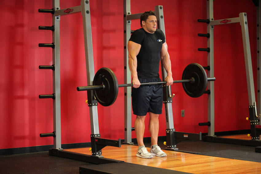 Image result for Barbell Shrugs