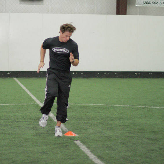 Single-Cone Sprint Drill