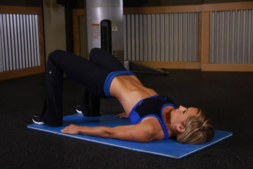 Exercise bottom side of butt
