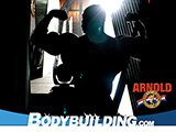2008 Arnold Classic: Backstage Silhouette!