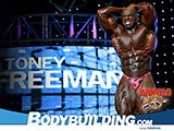 2009 Arnold Classic 4th Place Finisher Toney Freeman!